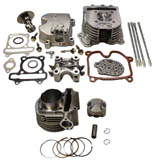 4-valve gy6 150cc head kit