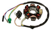 dc gy6 150cc 8-coil stator, 3 pin small plug, 2 loose wire