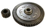 50cc-125cc clutch counter gear set