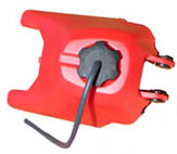 yamaha pw50 red gas tank 2-stroke ,49cc