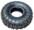 4.10-4 knobby butterfly tread tire